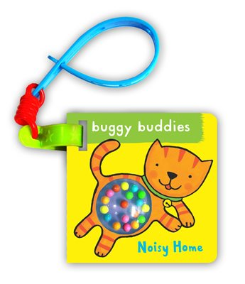 Book cover for Rattle Buggy Buddies: Noisy Home